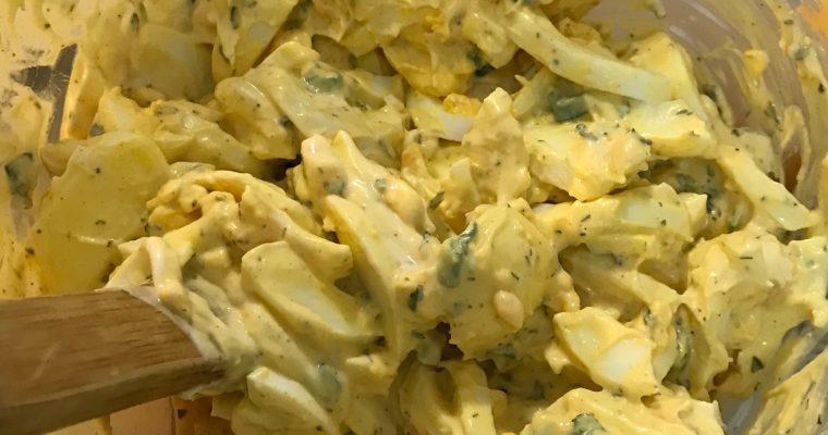 Capericious Egg Salad